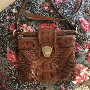 Brahmin Crossbody in Pecan Melbourne